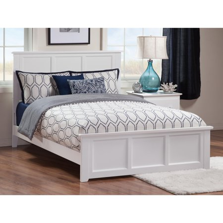 Pastel Traditional Bed (Madison Traditional Bed with Matching Foot Board in Multiple Colors and Sizes )