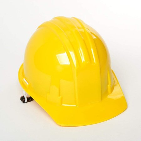 5 ABS Yellow Safety Hard Hats Adjustable Construction Industrial Bulk ATE Tools (Plastic Hard Hats Bulk)