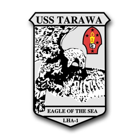 5 5 Inch Navy USS Tarawa LHA-1 Vinyl Transfer Decal