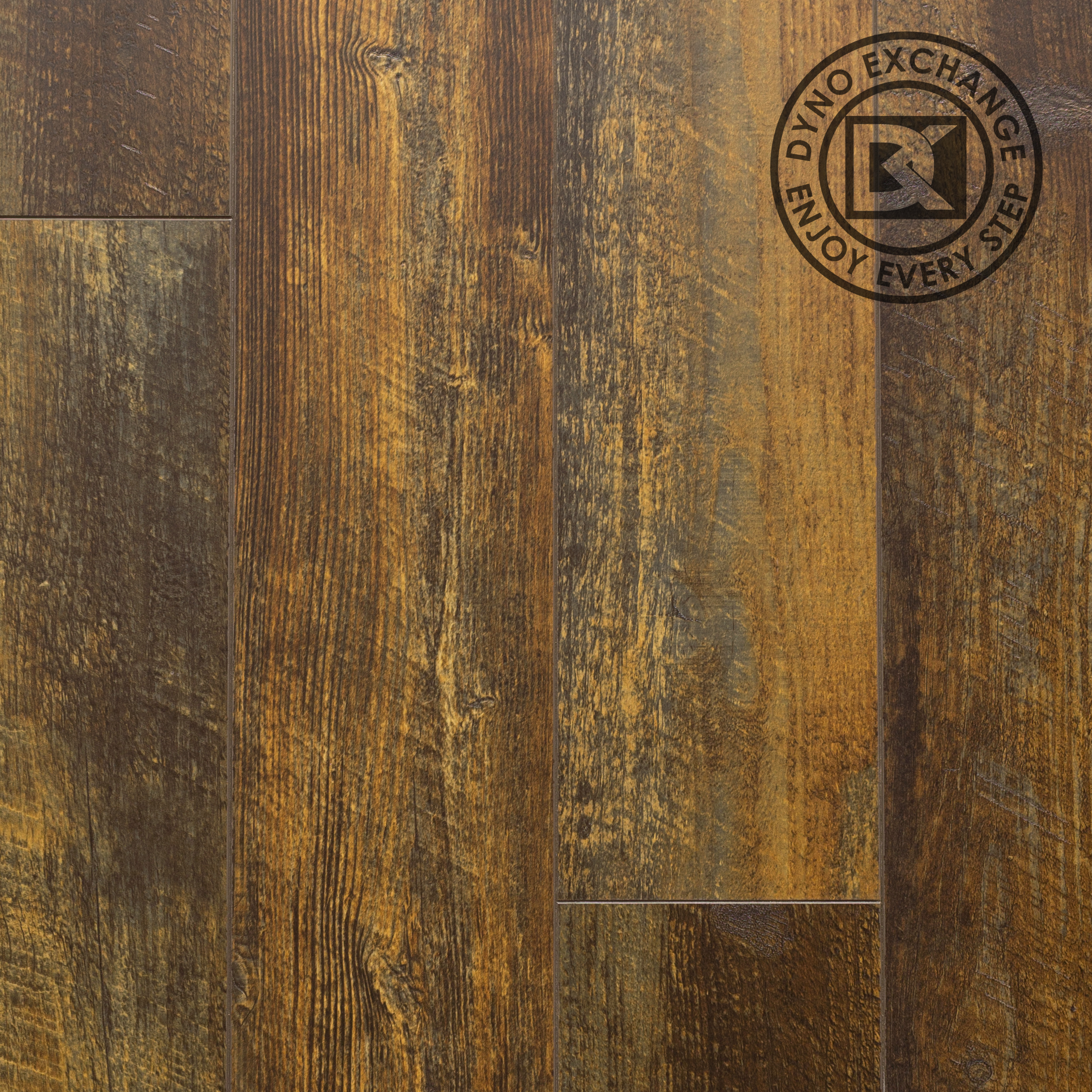 Dyno Exchange, Signature Collection Laminate Flooring, Gunstock Walnut (14.83 sqft/box)