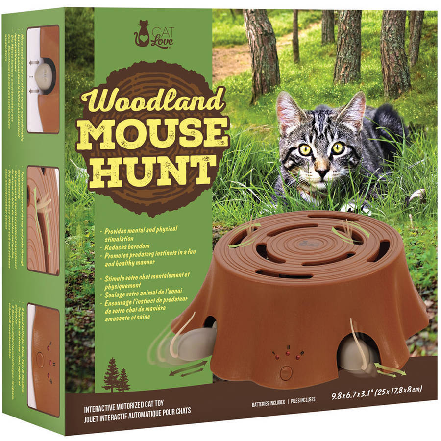 Cat Love Woodland Mouse Hunt Cat Toy by Generic