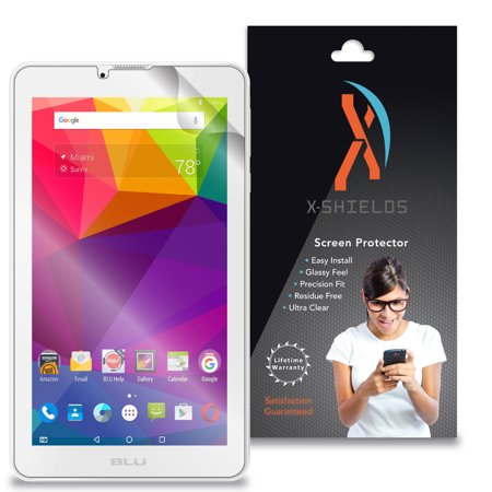 XShields© High Definition (HD+) Screen Protectors for Blu Touchbook M7 P270L (Maximum Clarity) Super Easy Installation [2-Pack] Lifetime Warranty, Advanced Touchscreen Accuracy