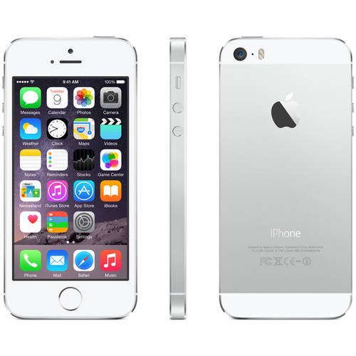 Straight Talk Apple iPhone 5S 16GB 4G LTE Prepaid Smartphone ...
