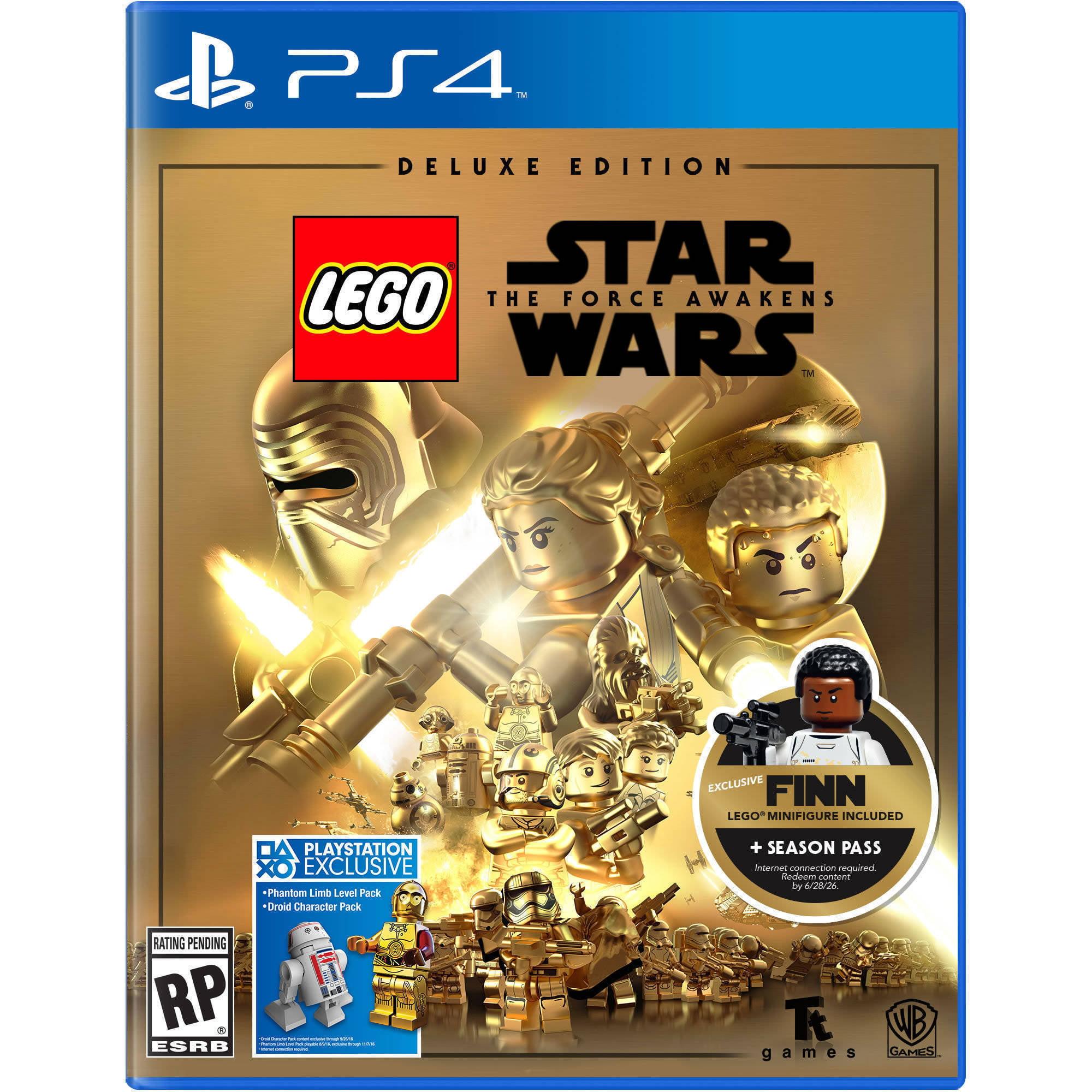 LEGO Star Wars Force Awakens Deluxe Edition - Walmart Exclusive (PS4)