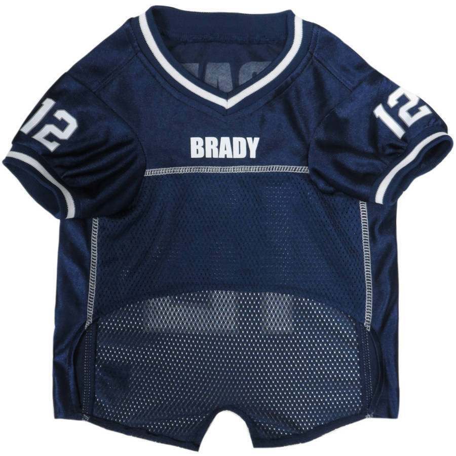 NFLPA Tom Brady New England Patriots Jersey for Dogs and Cats