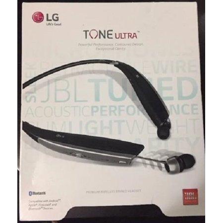 e6f94d496ab Certified Refurbished LG LGHBS-820.ACUSBKI Tone Ultra HBS-820 Wireless  Black (In Ear Headphones) - Walmart.com