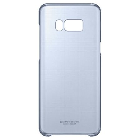 the latest 1387f 171cd Samsung Galaxy S8+ Clear Protective Cover, Blue