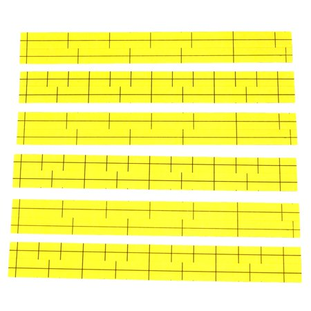 Label Base (6 Leviton Yellow Labels for Cat 5e 110-Type Telephone Wiring Base Lined)