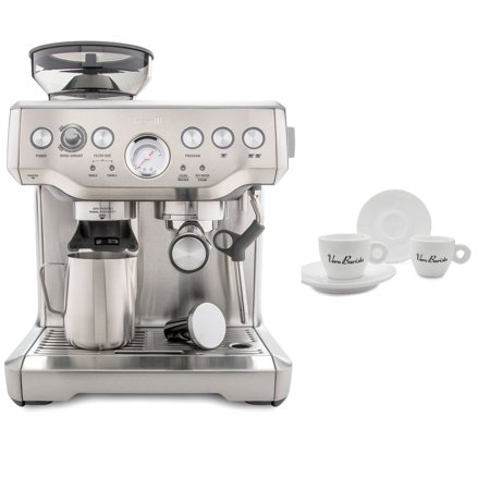 Breville BES870XL Barista Express Espresso Machine Includes 4 Espresso