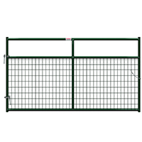 Behlen Gate 2X4in Wire Filled 8Ft Grn 40132082
