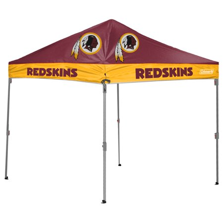 Washington Redskins Coleman 10' x 10' 2-Tone Straight Leg Canopy - No Size