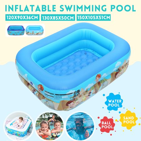 Family Pool Portable Inflatable Swimming Pool Kids Children Adults Summer Inflatable Paddling Pools For Home Garden Outdoor Use 2 3 Circle Walmart Canada