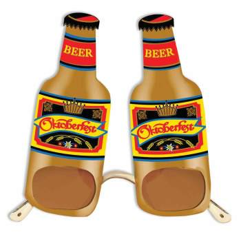 OKTOBERFEST BEER BOTTLE GLASSES](Oktoberfest Glasses)