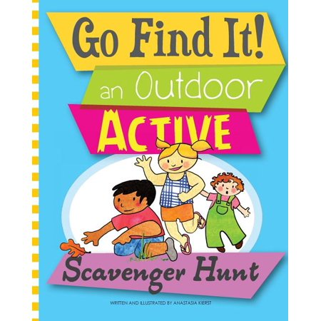 Halloween Themed Scavenger Hunt (Go Find It! an Outdoor Active Scavenger)