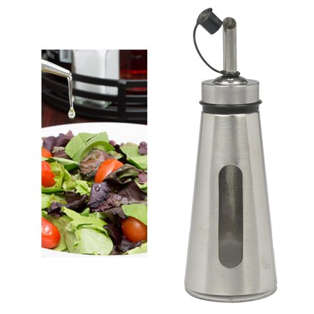 1 Stainless Steel Oil Vinegar Pour Dispenser Can Drizzler Spout Kitchen Tool