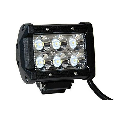 Light Bar 4' Led 18w Spot Work ATV 4x4 Off Road Fog Driving Cree Truck SUV Car 4 X 4 Off Road Driving