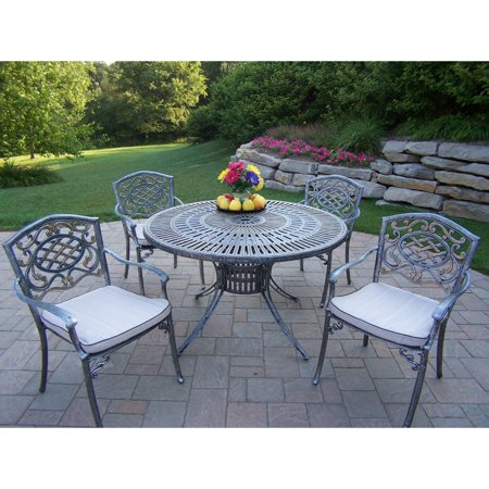 Oakland Living Sunray Aluminum 48 in. Mississippi Patio ... on Oakland Living Patio Sets id=93577