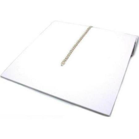 Counter Bracelet (Bracelet Ramp Display White Showcase Countertop Fixture)