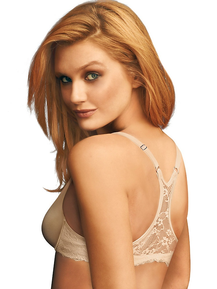 Women's Pure Genius T Back Bra Latte Lift 36D 36D Latte Lift