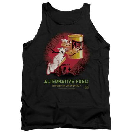 Popeye Alternative Fuel Mens Tank Top Shirt