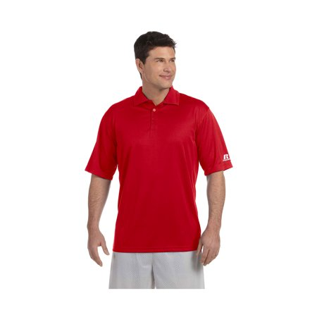 Russell Athletic Mens Team Dri Power Solid Polo Shirt  Style 833Ghm