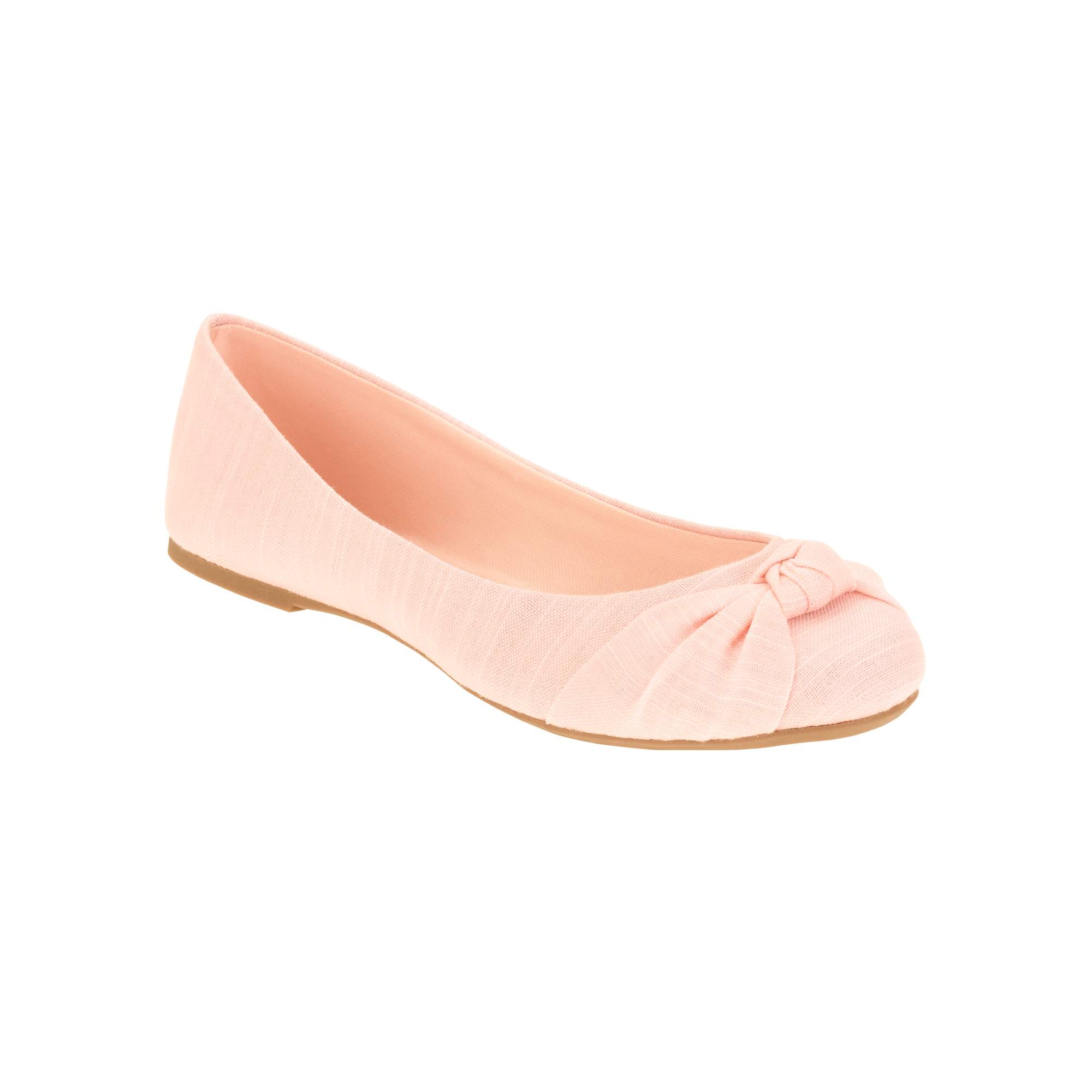 Time And Tru Brand Ballet Flats Metallic Gold Size 7.5  NEW Casual Shoes
