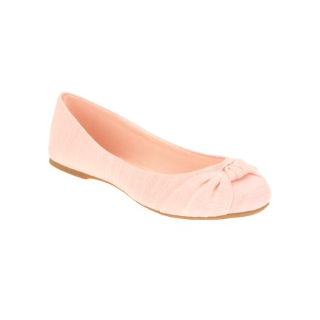 c0ef49e561c0 Time and Tru - Time and Tru Women s Basic Ballet Flat - Walmart.com
