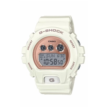 G-Shock, GMDS6900MC-7 Watch - White/Rose Gold (Best Deals On Casio Watches)