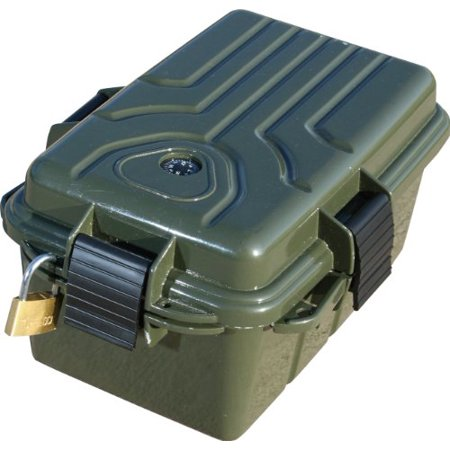 MTM Survivor Dry Box with O-Ring Seal (Forest Green, Large) - image 3 of 4
