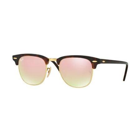 RAY BAN Sunglasses RB3016 990/7O Shiny Red/Havana 51MM