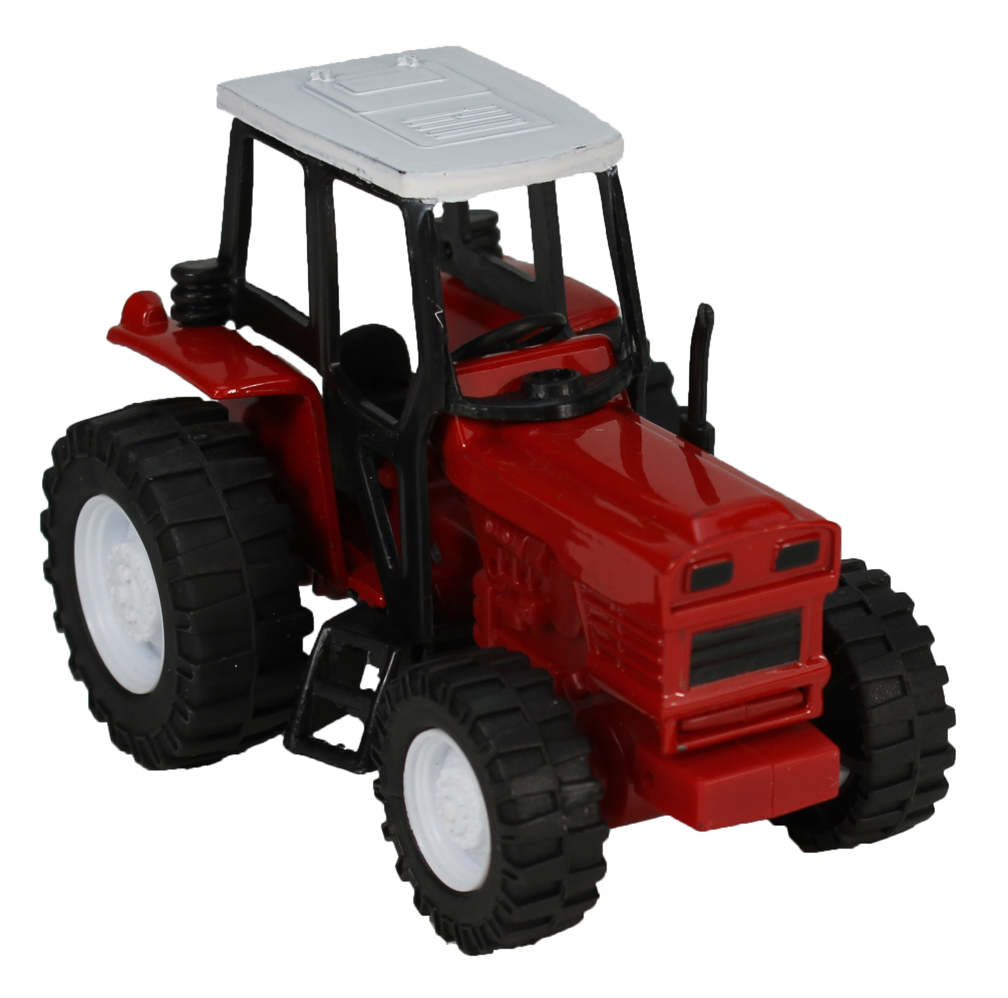 Red Die-Cast Farm Tractor, 1:32 Scale by NewRay