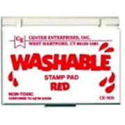 Center Enterprises Non-Toxic Washable Stamp Pad - 2.25 x 3.75 in. - Orange