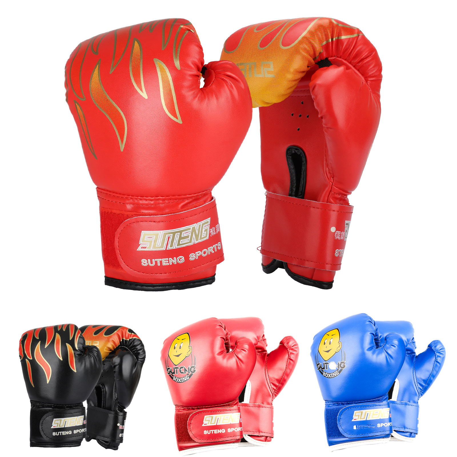 Kids Boxing Gloves Childs MMA Punching Bag Sparring Training Kickboxing Mitts