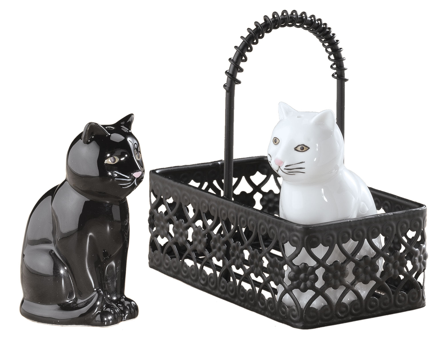 Click here to buy Cat Salt and Pepper Shaker by Walter Drake.