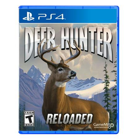Deer Hunter: Reloaded PS4 - Preowned/Refurbished (John Deere Video Game)