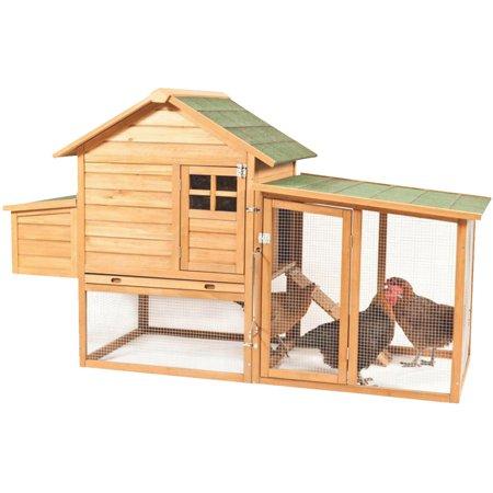 Aspen Pet 43102 Peak Roof Chicken Coop