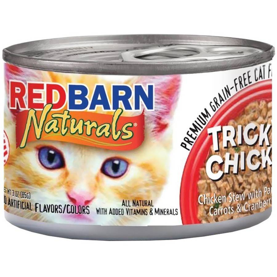 Redbarn Cat Food, Tricky Chicky, 3 oz