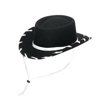 M&F Western T7110601-L Woody Kids Hat, Black - Large