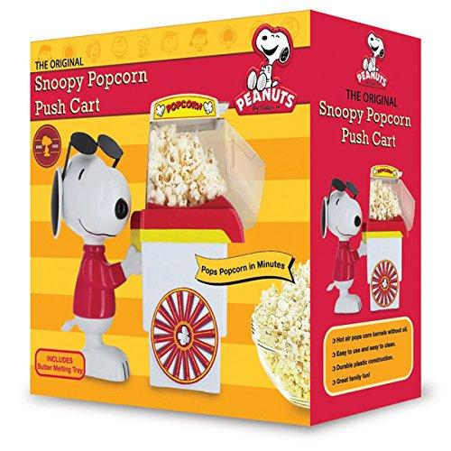Smart Planet Pnp1 Snoopy Popcorn Popper Push Cart