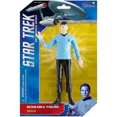 "Action Figures - Star Trek - Spock 6"" Bendable  New st-5104 - image 2 de 2"