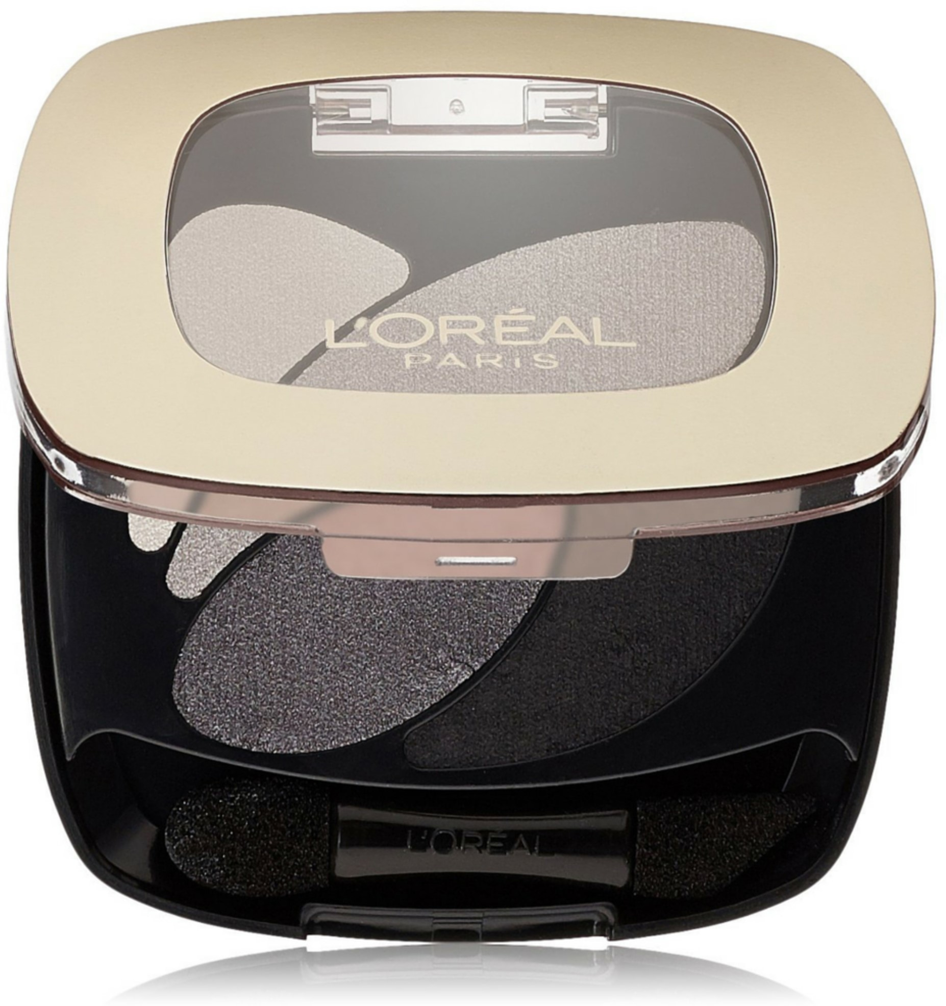 L'Oreal Paris Colour Riche Dual Effects Eyeshadow, Incredible Grey [260] 0.12 oz (Pack of 6)