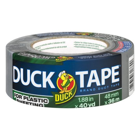Duck Tape For Plastic Sheeting 40 Yards 40 0 Yards