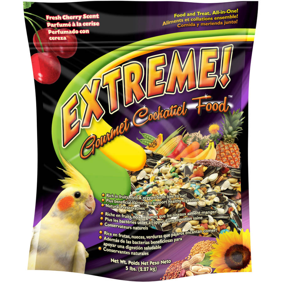 F.M. Brown Extreme Gourmet Cockatiel Food, 5 lbs