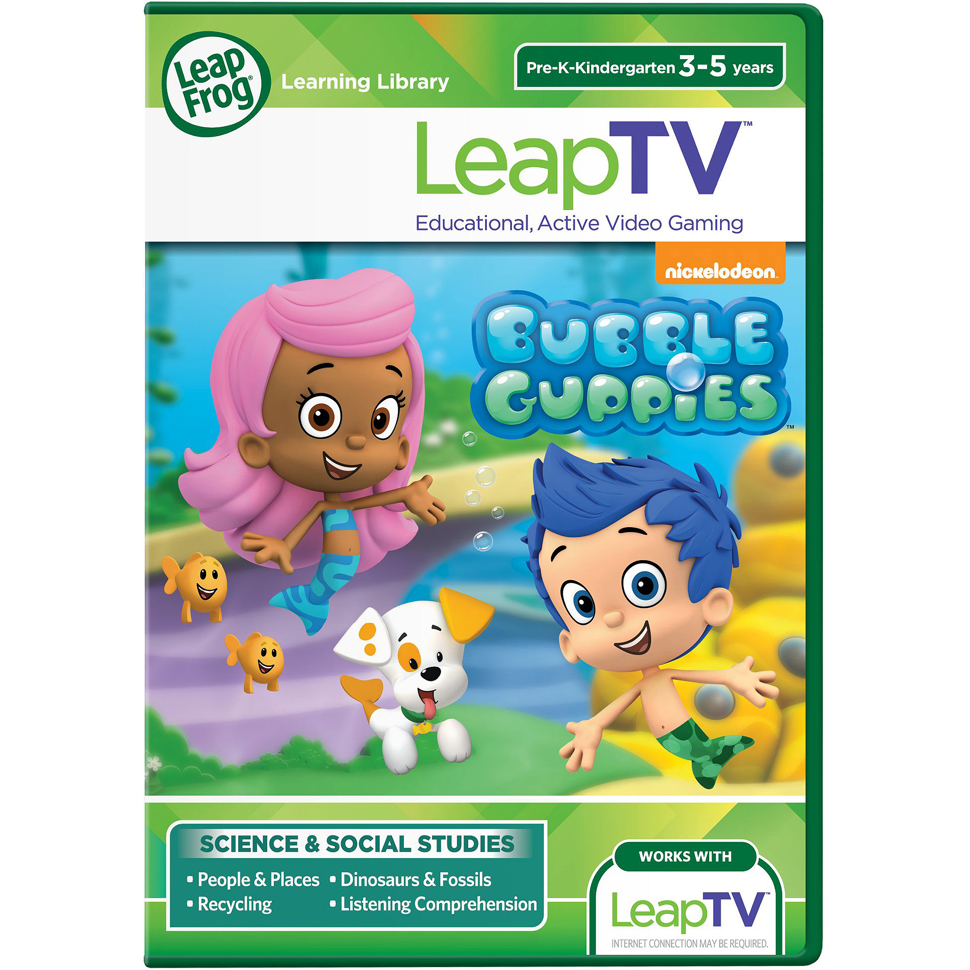 LeapFrog LeapTV Nickelodeon Bubble Guppies Educational, Active Video Game by Generic