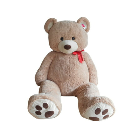 Way to Celebrate Plush 6ft XXL Cream Bear