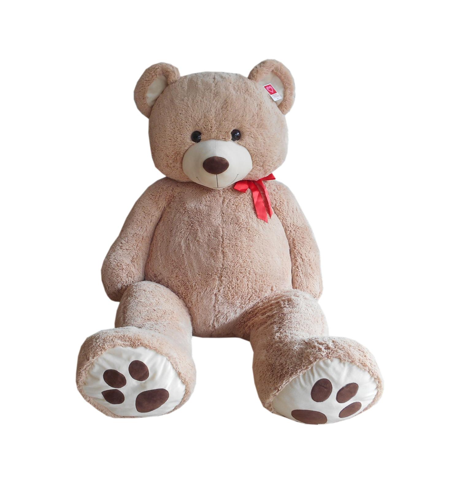 Way to Celebrate Plush 6ft XXL Cream Bear