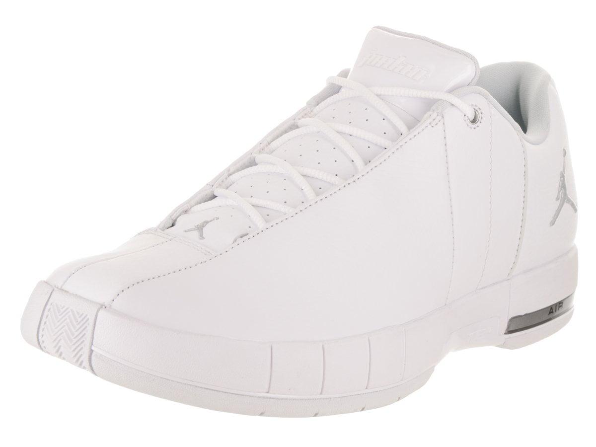 Jordan - Jordan AO1696-100: Team Elite 2 Low Men's White/Metalic Silver Sneakers (White/Metallic Silver, 10.5 D(M) US Men) - Walmart.com