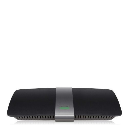 Linksys AC900 Wi-Fi Wireless Dual-Band+ Router; Smart Wi-Fi App Enabled to Control Your Network from Anywhere (EA6200)
