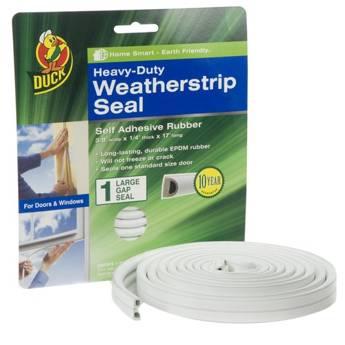Duck Brand Small Gap Sponge Seal, White
