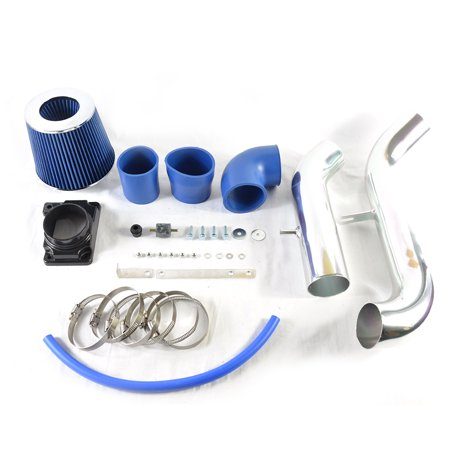 Ktaxon Cold Air Intake System Kit & Filter for 00-05 Mitsubishi Eclipse 2.4/3.0L Blue